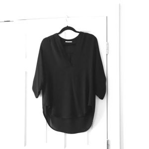 EUC Lush Black Blouse